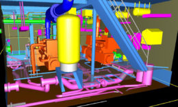 MEP: 3D scans for complex systems