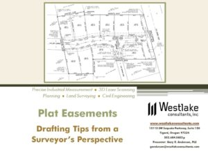 Types Of Essments | Westlake S Gary Anderson Presents At Easements And Ccrs In Oregon